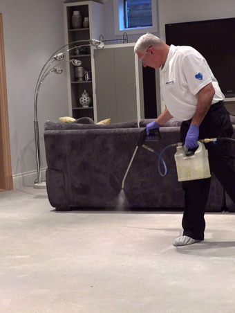 Carpet Cleaning Pre Treatment