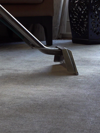 Powerful Carpet Steam Cleaning