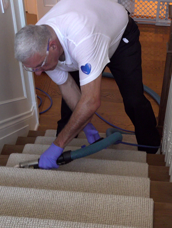 Staircase Carpet Cleaning Toronto